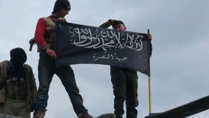 Jihadstrijders in Syrië.