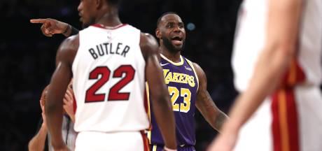 Zevende zege op rij basketballers Lakers