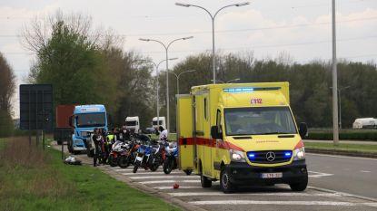 Motorrijder gewond na uitwijkmanoeuvre voor konijn