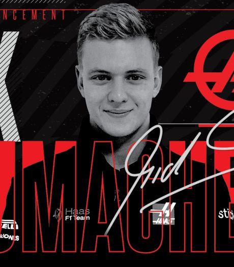 Mick Schumacher débarque en F1 et sera pilote officiel chez Haas