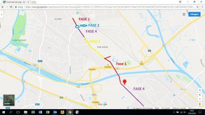 Start fase 4 in werken Gontrode Heirweg