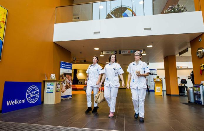 Het Beatrixziekenhuis in Gorinchem. De foto is gemaakt in 2016, toen het ziekenhuis voor het eerste de eerste plaats haalde in de Ziekenhuis Top 100.