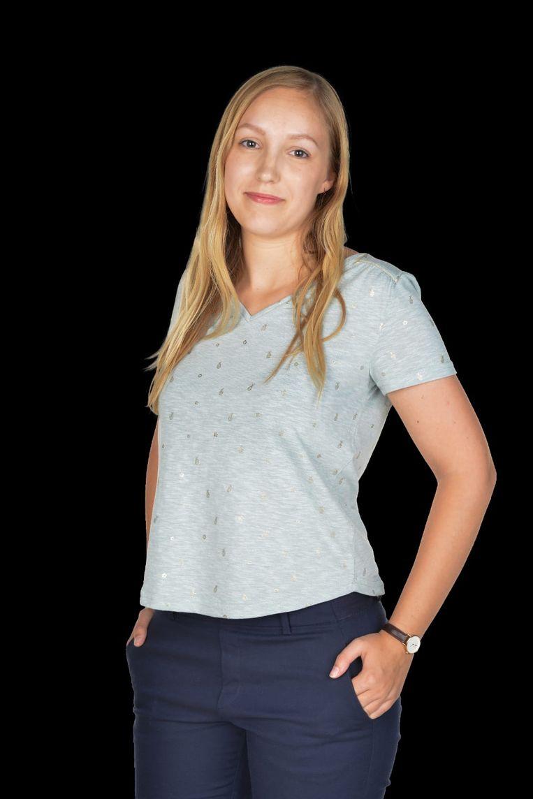 Nathalie van Baren, het jongste raadslid bij N-VA