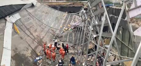Doden en gewonden na instorten dak van Chinese nachtclub