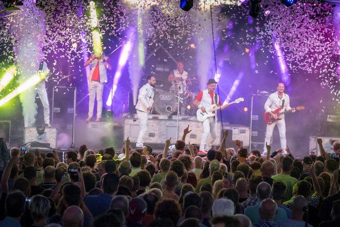 De Band Zonder Banaan lijkt het 25-jarig bestaan niet in Volkel te kunnen vieren.