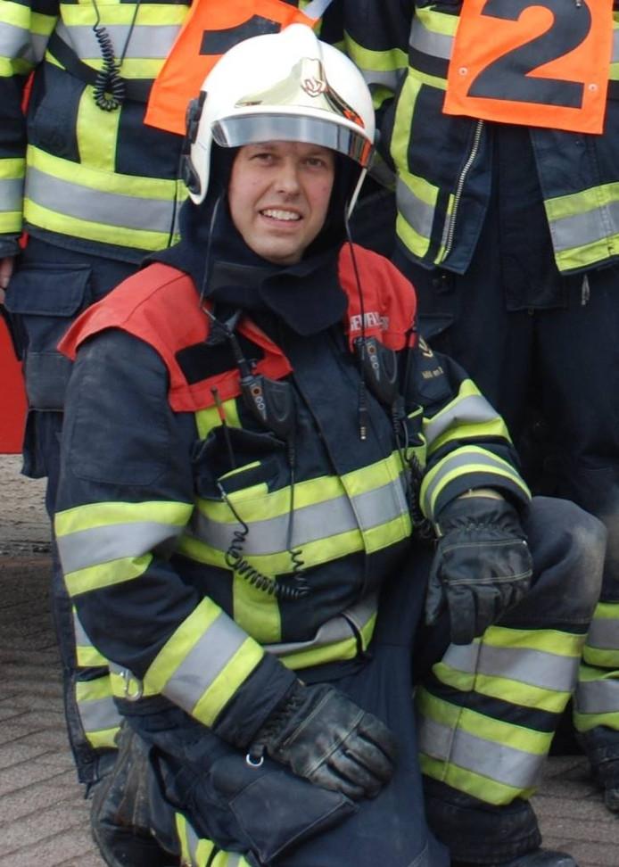 Frank van Berkel van de Millse brandweer.