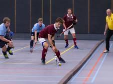 Hockeyers Hattem opnieuw onderuit in zaalcompetitie