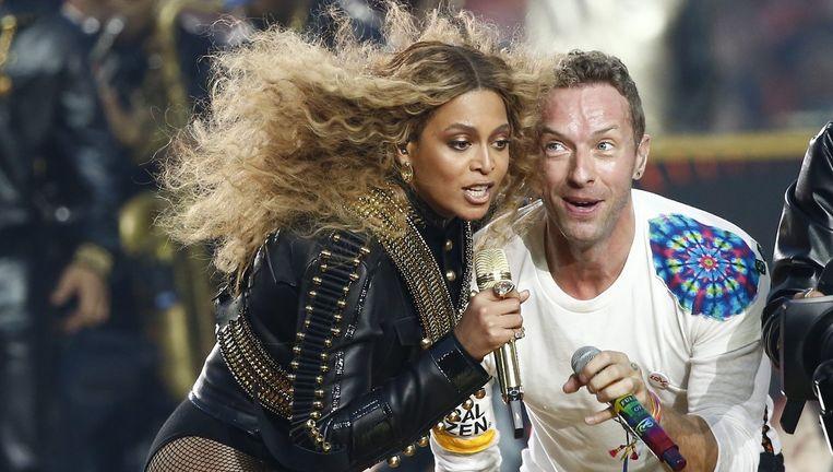 Beyoncé kondigde de tour aan na haar optreden tijdens de Super Bowl. Beeld EPA