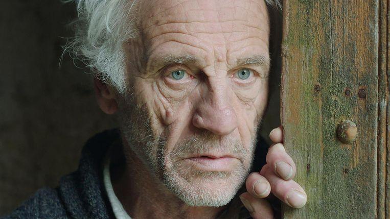 Johan Leysen als norse, zwijgende boer in Resurrection.  Beeld rv