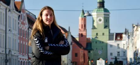 Volleybalster Iris Scholten: verliefd op Vilsbiburg