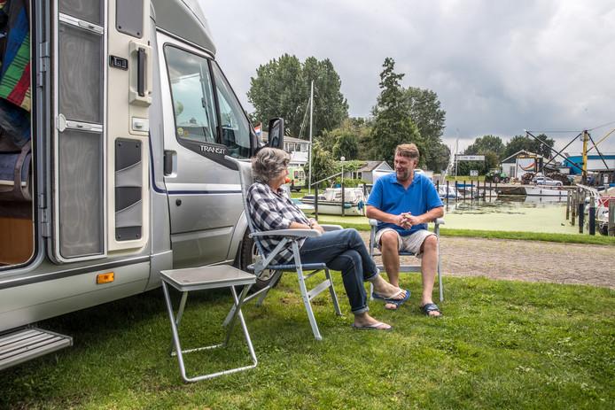 Camperplaatsen duiken op steeds meer plekken op in ons land. Foto ter illustratie.