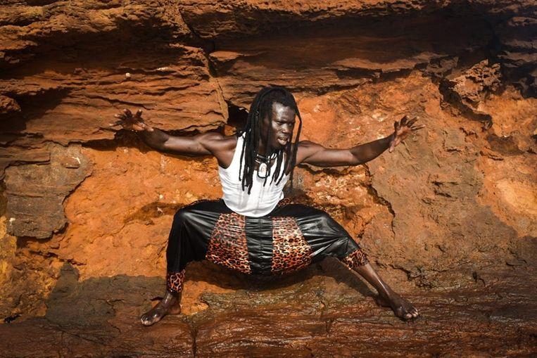 Danser, choreograaf en musicus Laye Serrere. Beeld Veronica Navarro Porter