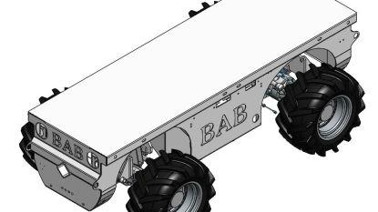 Binnenkort onbemande tractor aan het werk  in de fruitplantage?
