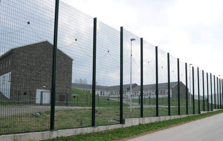 De gevangenis in Saint-Hubert.