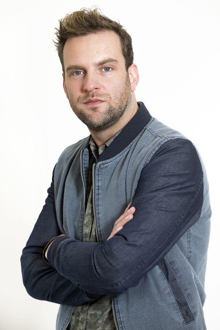 De Belgische acteur David Cantens. Beeld null