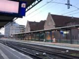 Serene rust op station Deventer door staking NS-personeel