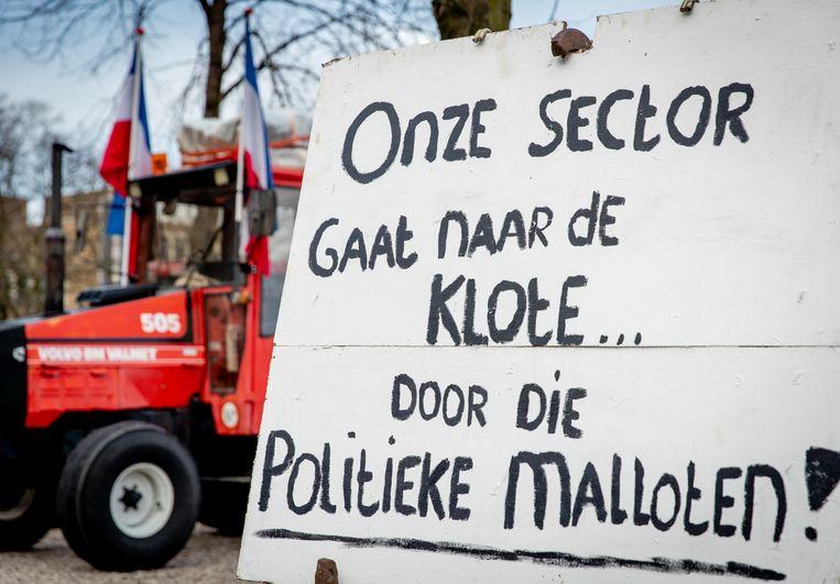Boerenprotest. Beeld ANP