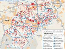 Glasvezel en dus supersnel internet verspreidt zich als olievlek over Brabant
