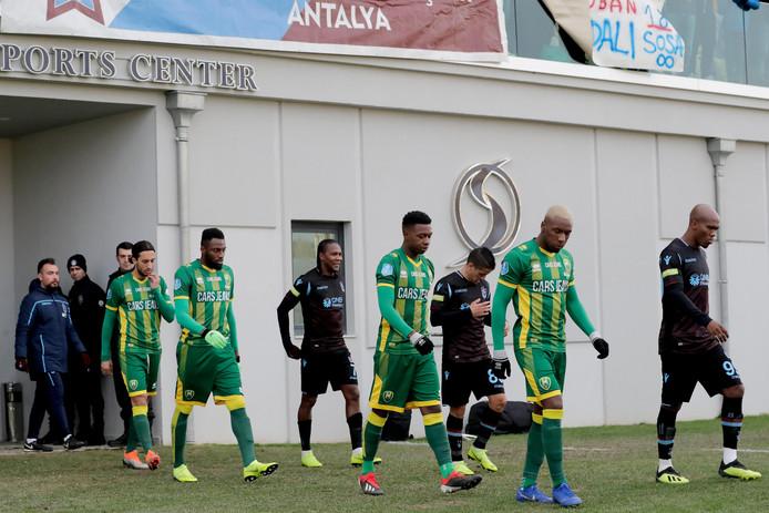 ADO voor het duel met Trabzonspor in Turkije.