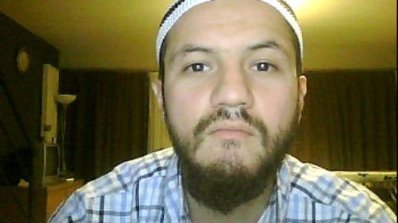 Khalid Bouloudo, beter bekend als 'de Koekjesbakker'.