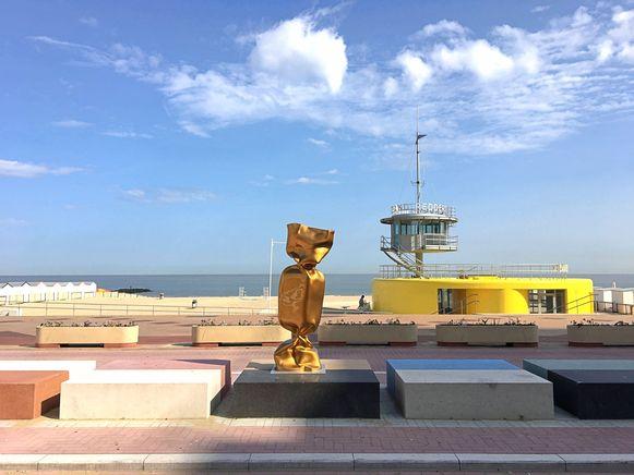 Eén van de snoepjes voor Sculpture Link aan het Lichttorenplein