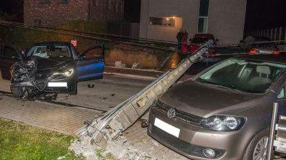 Ware ravage na ongeval in Heufkensstraat in Sint-Denijs-Boekel