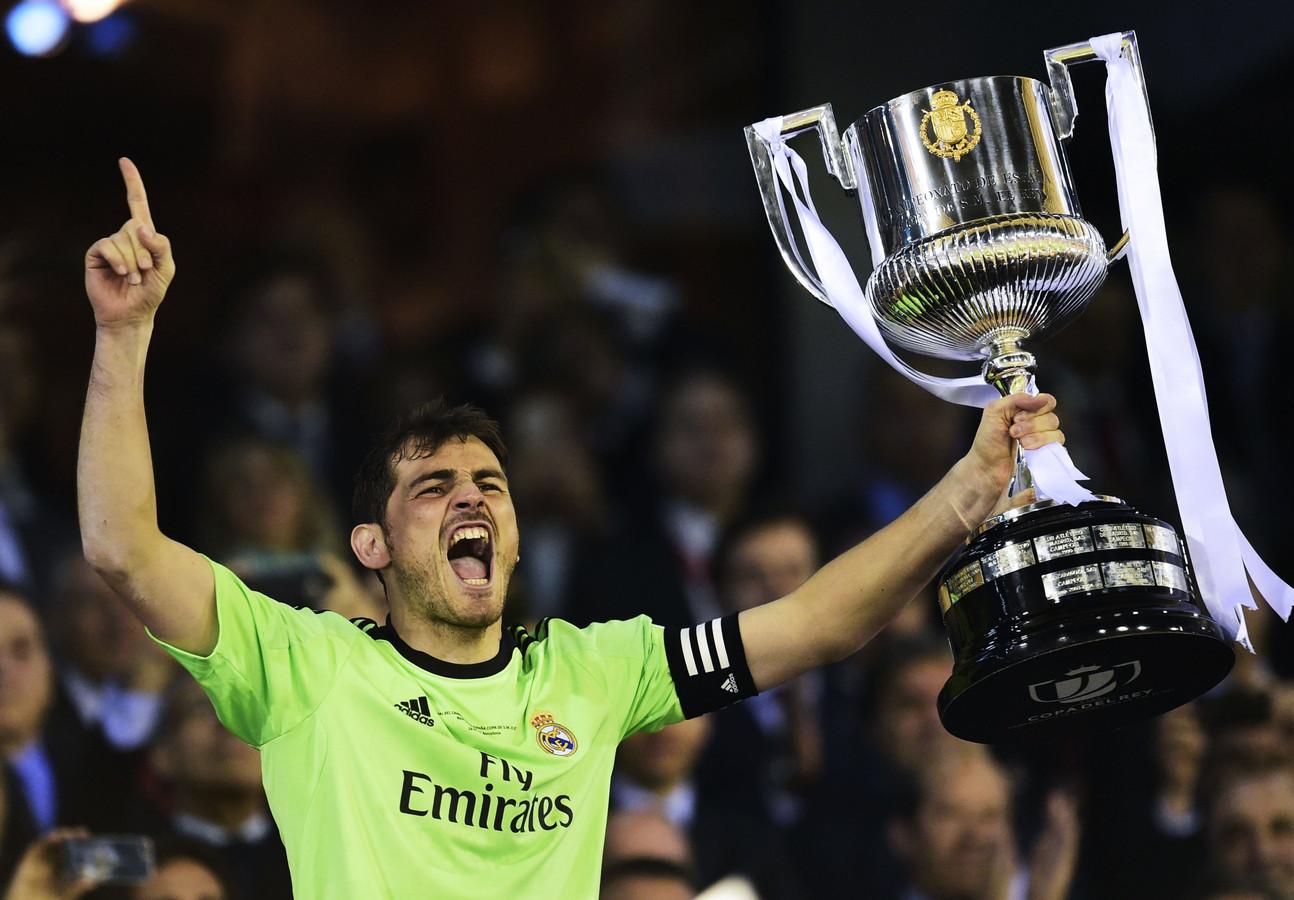 Real Madrid wint de Copa del Rey in 2014 door FC Barcelona te verslaan.