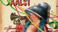16-jarige Staf De Koninck ontwerpt affiche van Aalst carnaval 2020