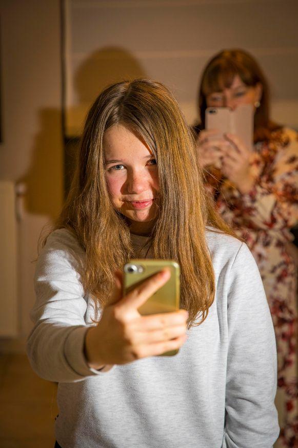 Brynn Van de Velde (15) uit Erpe, studeert Latijn-talen
