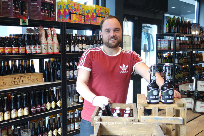 Willem-Jan van der Heijden is de kersverse eigenaar van De Bierhoeder in De Schakel in Oss.