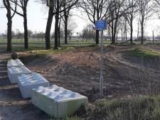 Rijssense crossbaan aan Holterstraatweg afgesloten