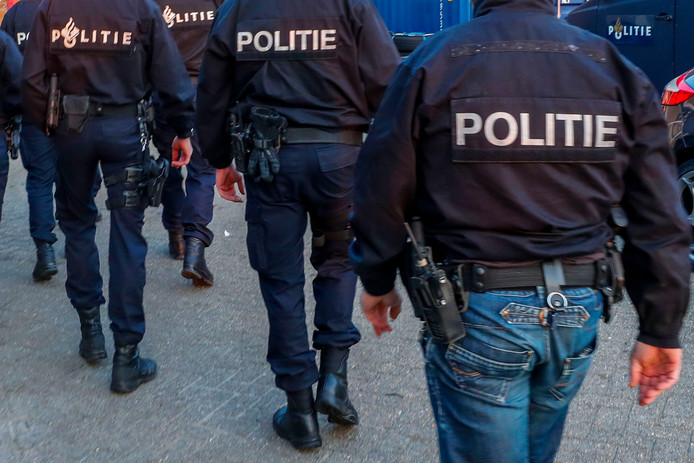 Aanhoudingseenheid politie