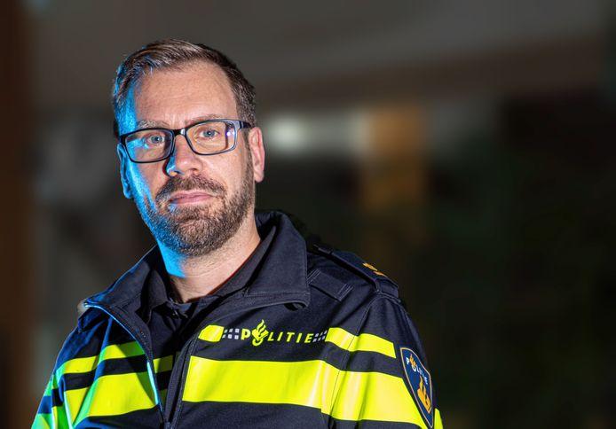 Teamchef Riemer van Beem van politie Zwolle.