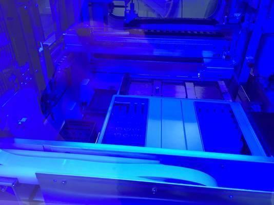 Cette machine permettra de faire 800 analyses.