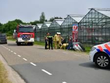 Automobiliste belandt in sloot in Veldhoven