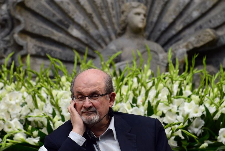 Schrijver Salman Rushdie. Beeld ANP