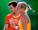 Jean-Julien Rojer en Kiki Bertens op de Spelen van Rio.