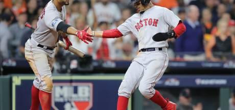Red Sox op rand van World Series