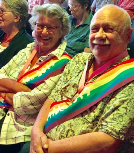 Nijmegenaar Clem Bongers (80) mag zich Mr Senior Pride 2019 noemen