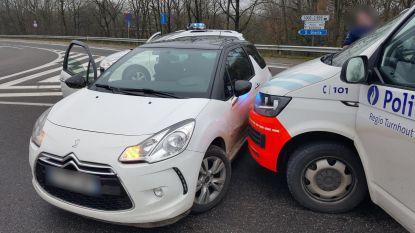 Vluchtende inbreker riskeert twee jaar cel voor crash met politie