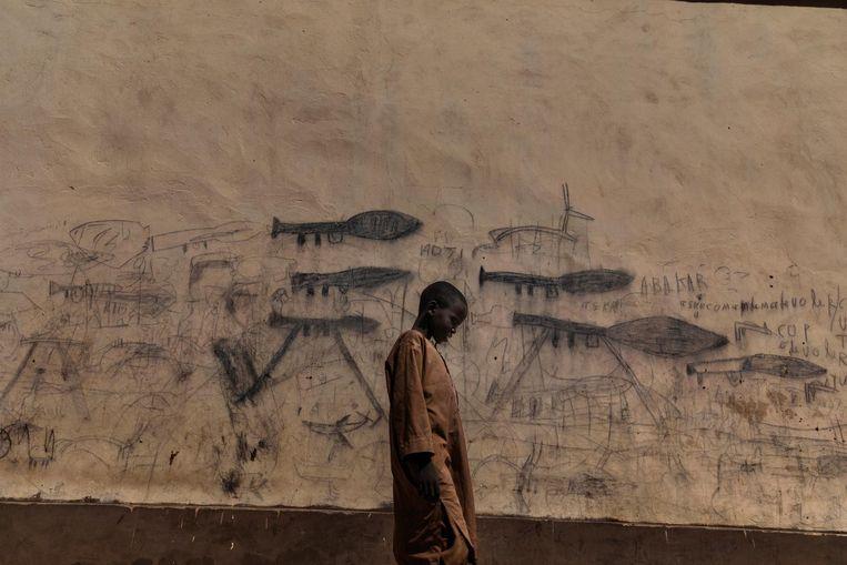 Een weesjongen in Tsjaad Beeld Marco Gualazzini