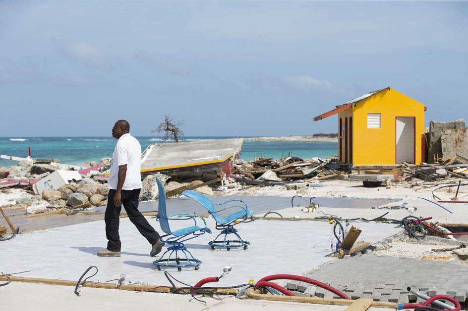 Het is een schande, al die daklozen op Sint-Maarten