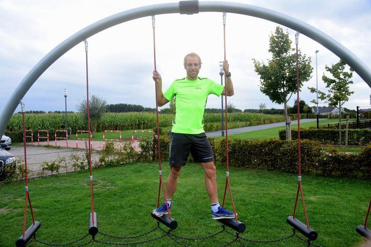 Jaryd is volop aan het trainen voor de Ironman in Hawaï.