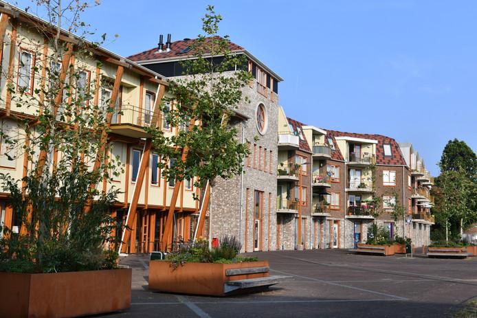 De vrijeschool Het Sterrenbos in centrum Allemanswaard.