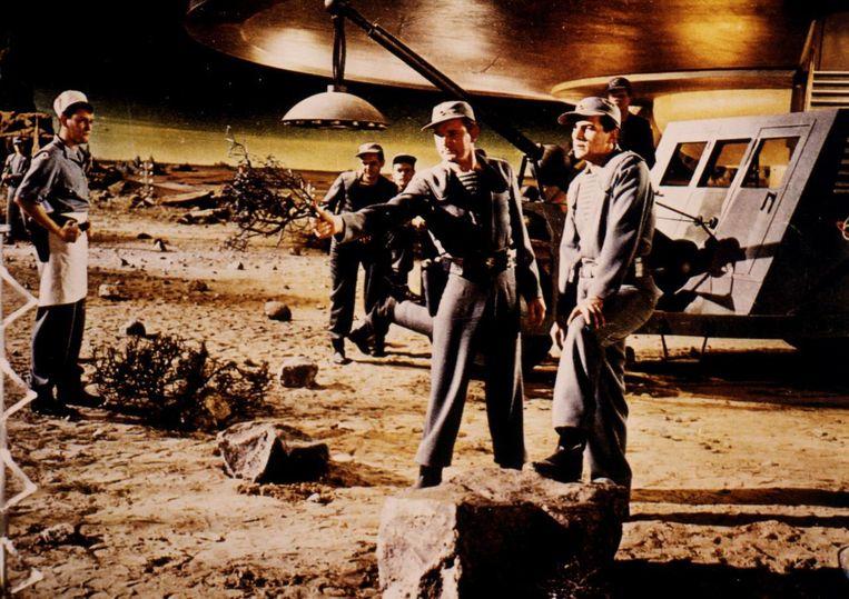 Scene uit de film Forbidden Planet, 1956. Beeld ANP kippa