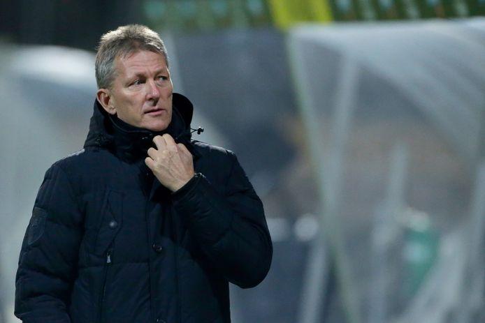 Frank Wormuth is bezig aan zijn derde seizoen bij Heracles en is van plan het seizoen ook af te maken.