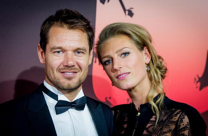 Reinder Nummerdor en vrouw Manon Flier.