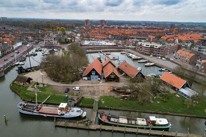 De Koggewerf in in Kampen.
