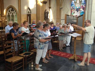 Gouden jubileum Heilige Lambertus gemengd koor Haaren