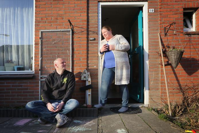 Marijke (35) en Leo Rijkens (37) moeten met drie kinderen maandelijks rondkomen van een minimumloon.